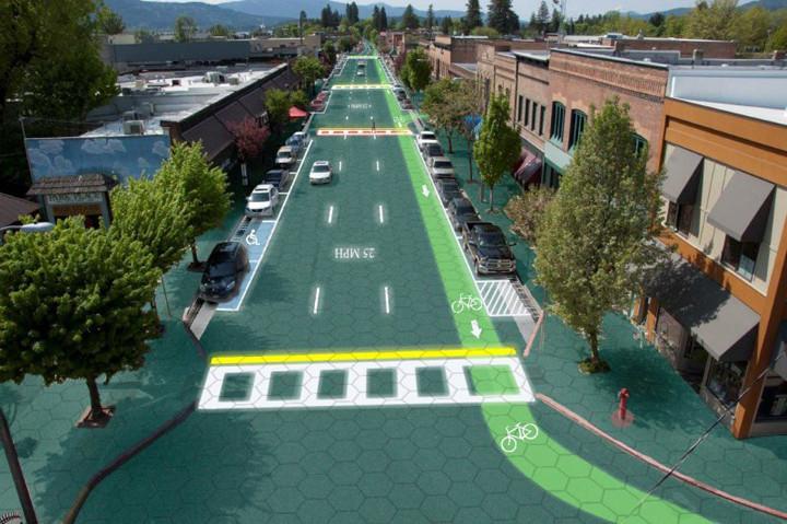 Novo material cria placas solares para substituir o asfalto