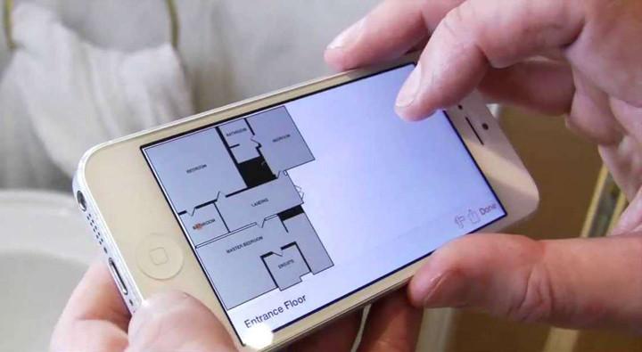 Roomscan app desenha plantas de arquitetura e interiores for Aplicacion para hacer planos