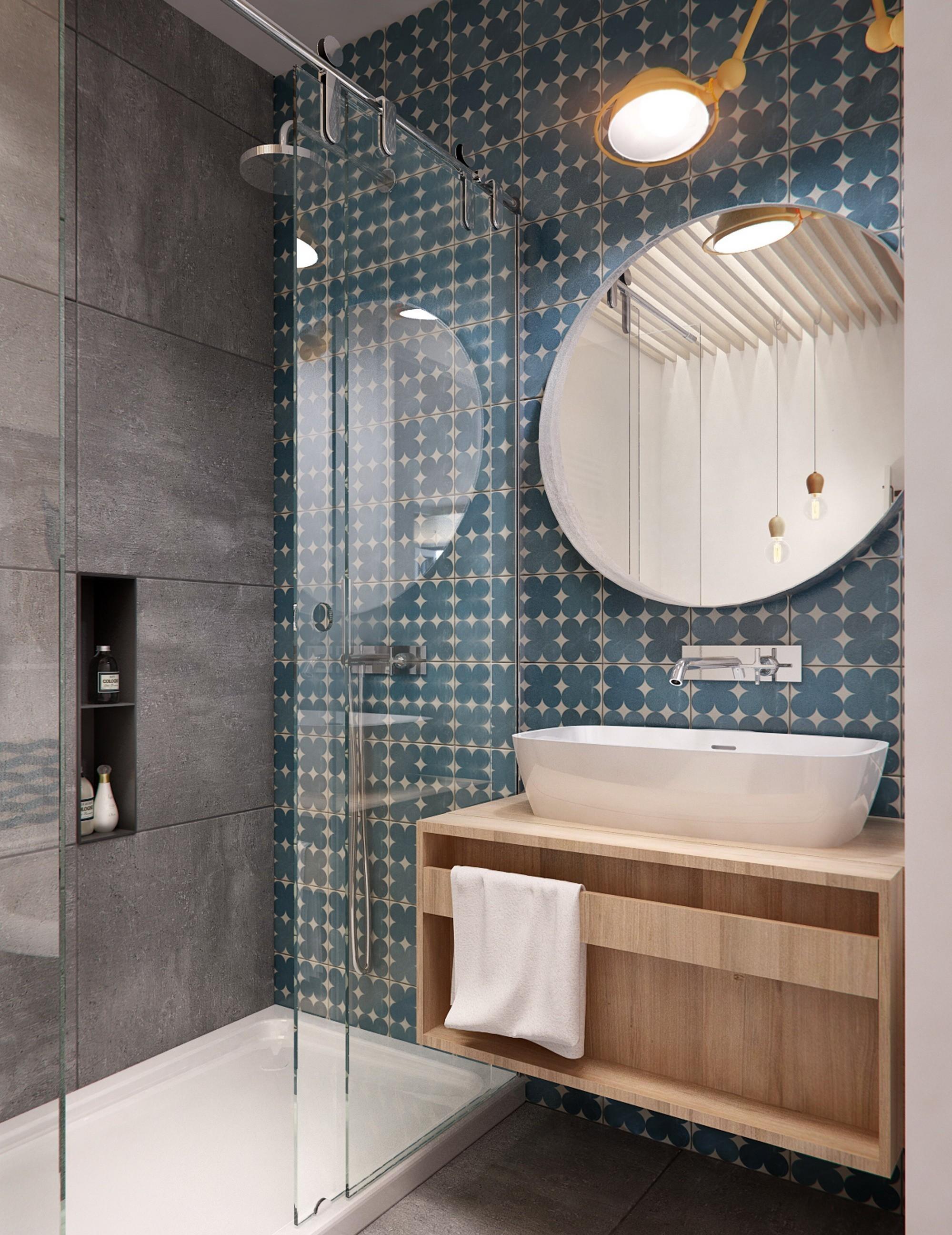 Bancadas no banheiro: 14 dicas de materiais e projetos para se  #634A3C 1999x2592 Banheiro Com Bancada