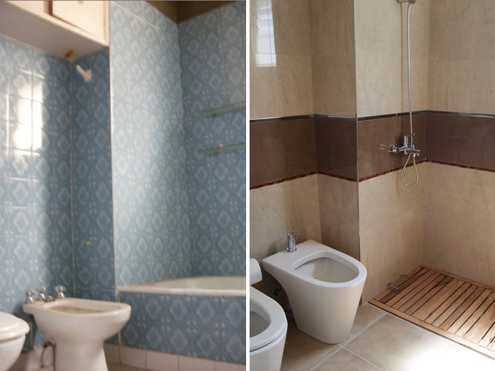 8 dicas de reforma de banheiros com o mínimo de quebraquebra -> Como Decorar Banheiro De Forma Barata