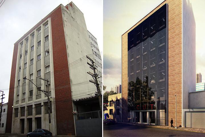 retrofit Sede da –Central Única dos Trabalhadores (CUT) pelo escritório Laplan