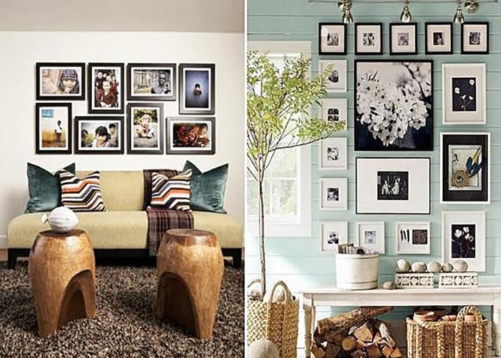 38c2212b1 Como criar uma parede com quadros  confira dicas e 25 fotos de ...