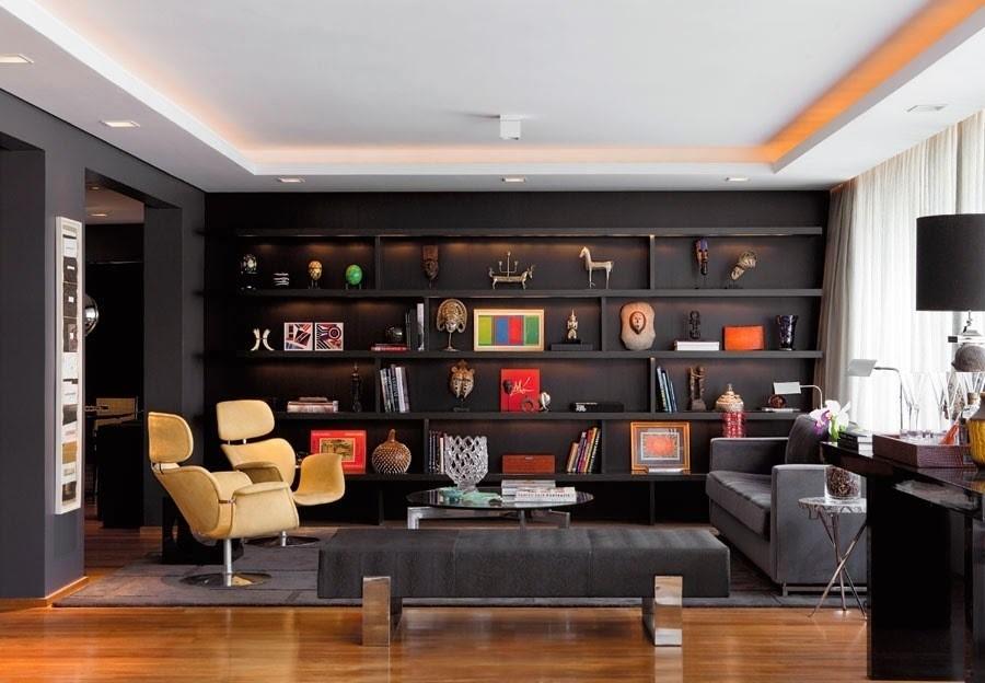 8 motivos para utilizar o preto na decoração de casa