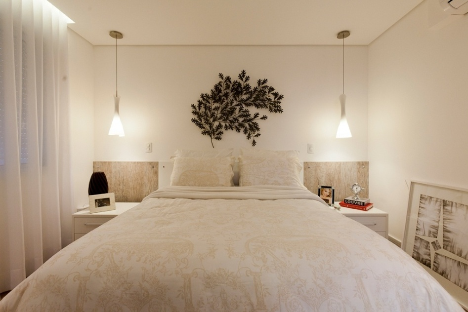 10 truques para acertar na decoração do quarto de casal ~ Abajur De Parede Para Quarto De Casal