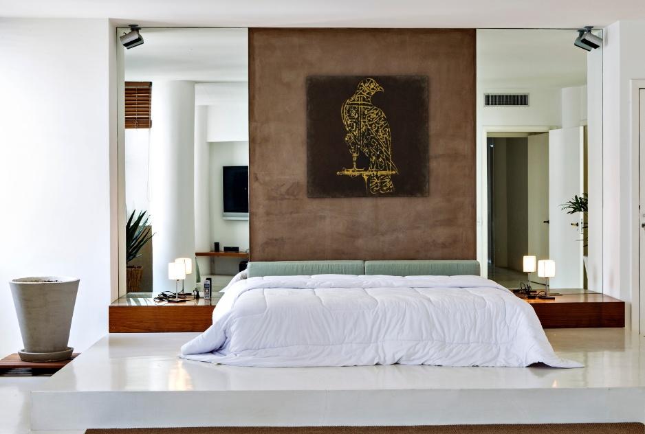 10 truques para acertar na decora o do quarto de casal for Quadros dormitorio