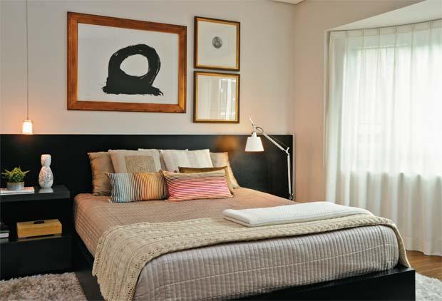 11 ideias incríveis para a cabeceira da cama ~ Quarto Pequeno Tv
