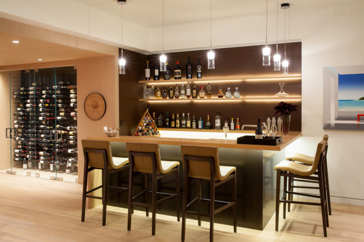 29 ideias para ter seu pr prio bar dentro de casa for Bar designs at home