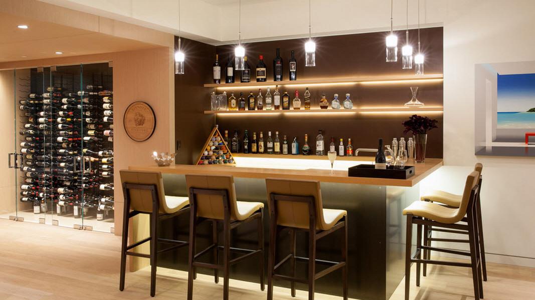 29 ideias para ter seu pr prio bar dentro de casa for Bar rustico para casa