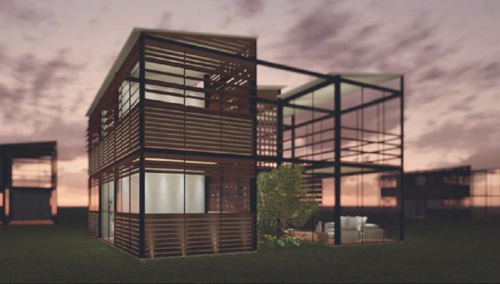 Casa 30/30: vencedor na categoria Estudantes do Prêmio bim.bon Senai 2015 | Arquitetura