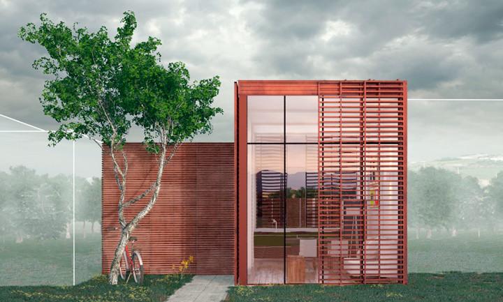Casa Tetriz: 2° lugar na categoria Estudantes do Prêmio bim.bon Senai 2015 | Arquitetura