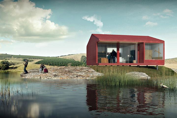 Casa Chassi: vencedor na categoria Profissionais do Prêmio bim.bon Senai 2015 | Arquitetura