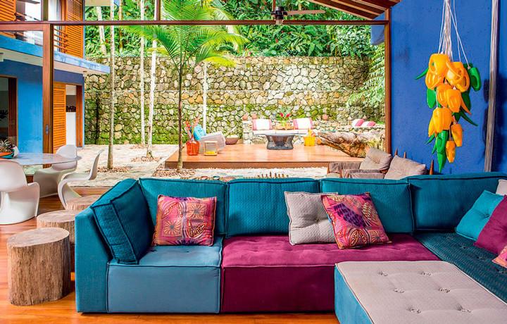 7 ambientes com paletas de cores inusitadas que deram certo
