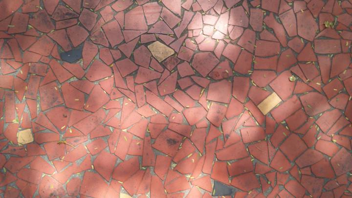 A hist ria dos caquinhos de cer mica em s o paulo - Nivelador de piso ceramico leroy merlin ...