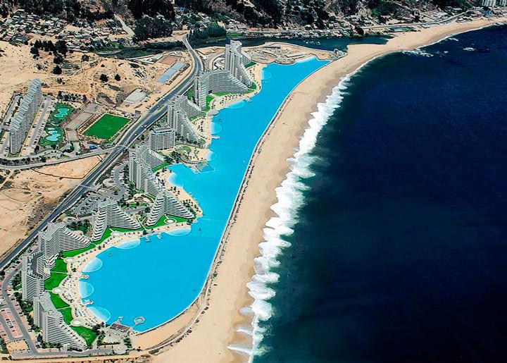 crystal lagoon a maior piscina aberta do mundo