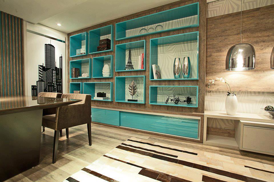 Soft neon cores e dicas de decoraç u00e3o com a tend u00eancia -> Decoração De Escritório Residencial