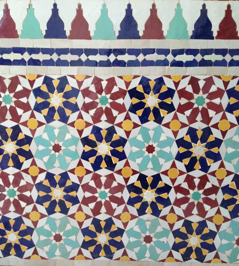 Azulejo Marroquino bimbon
