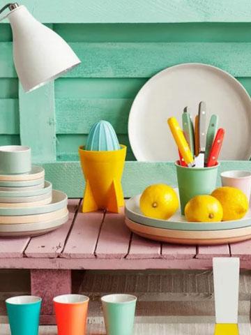 Soft neon: cores e dicas de decoração com a tendência