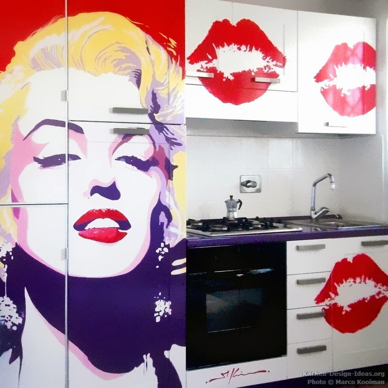 Guia de decora o de cozinhas com o estilo pop for Pop design for kitchen