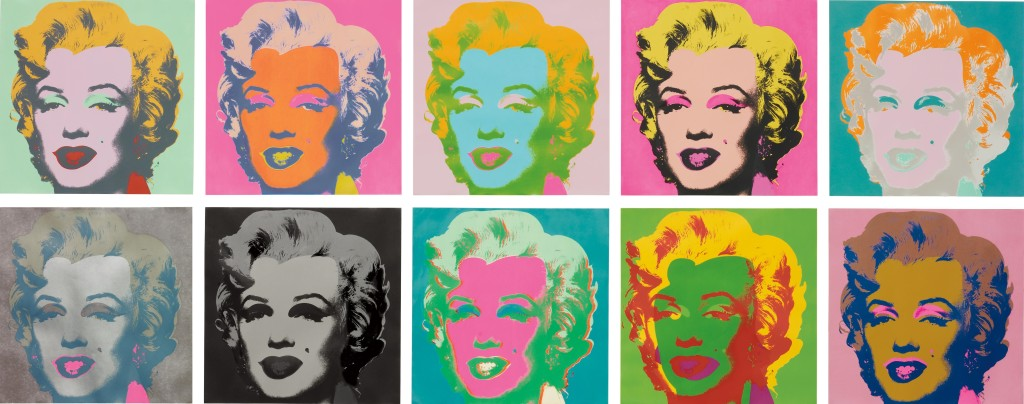 Marilyn Monroe em Art Pop