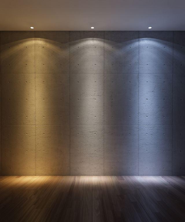 Tonalidade das lâmpadas LED
