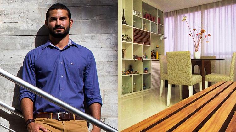 Arquiteto faz consultoria de interiores a partir de 300 reais