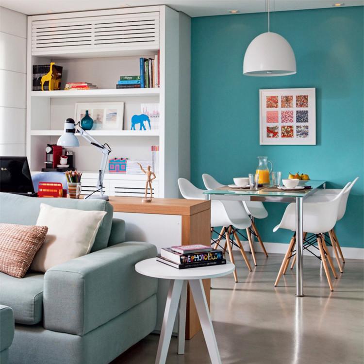 Hometeka responde pisos para cozinha sala bancadas e mais - Amueblar pisos pequenos ...