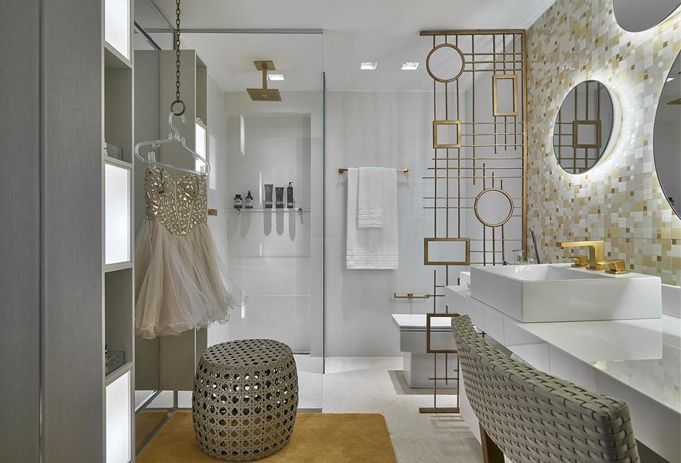 Projeto: Camila Bignoto | Louças e metais: Belíssimo Banheiros