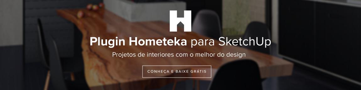 baixe o plugin Hometeka para SketchUp