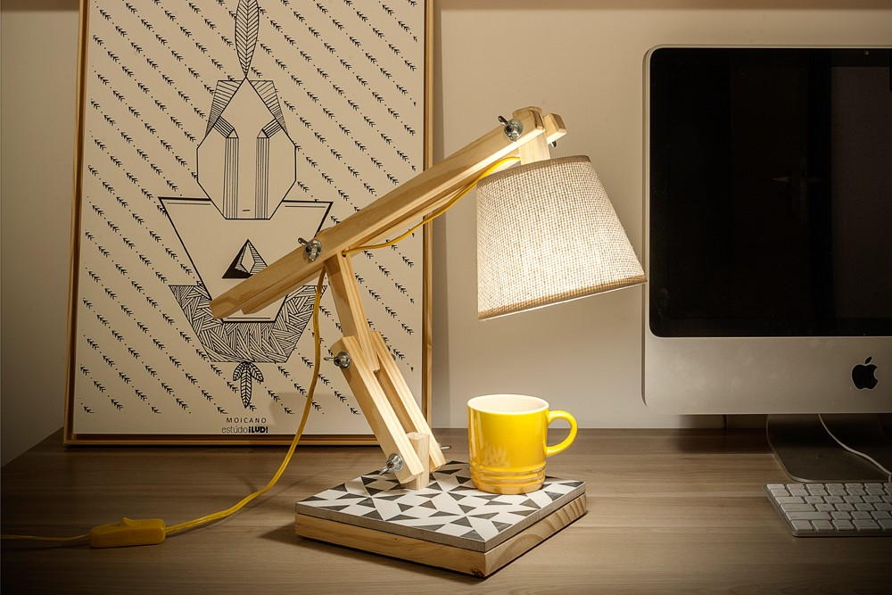 Luminária Muda Triângulos | Estúdio Iludi