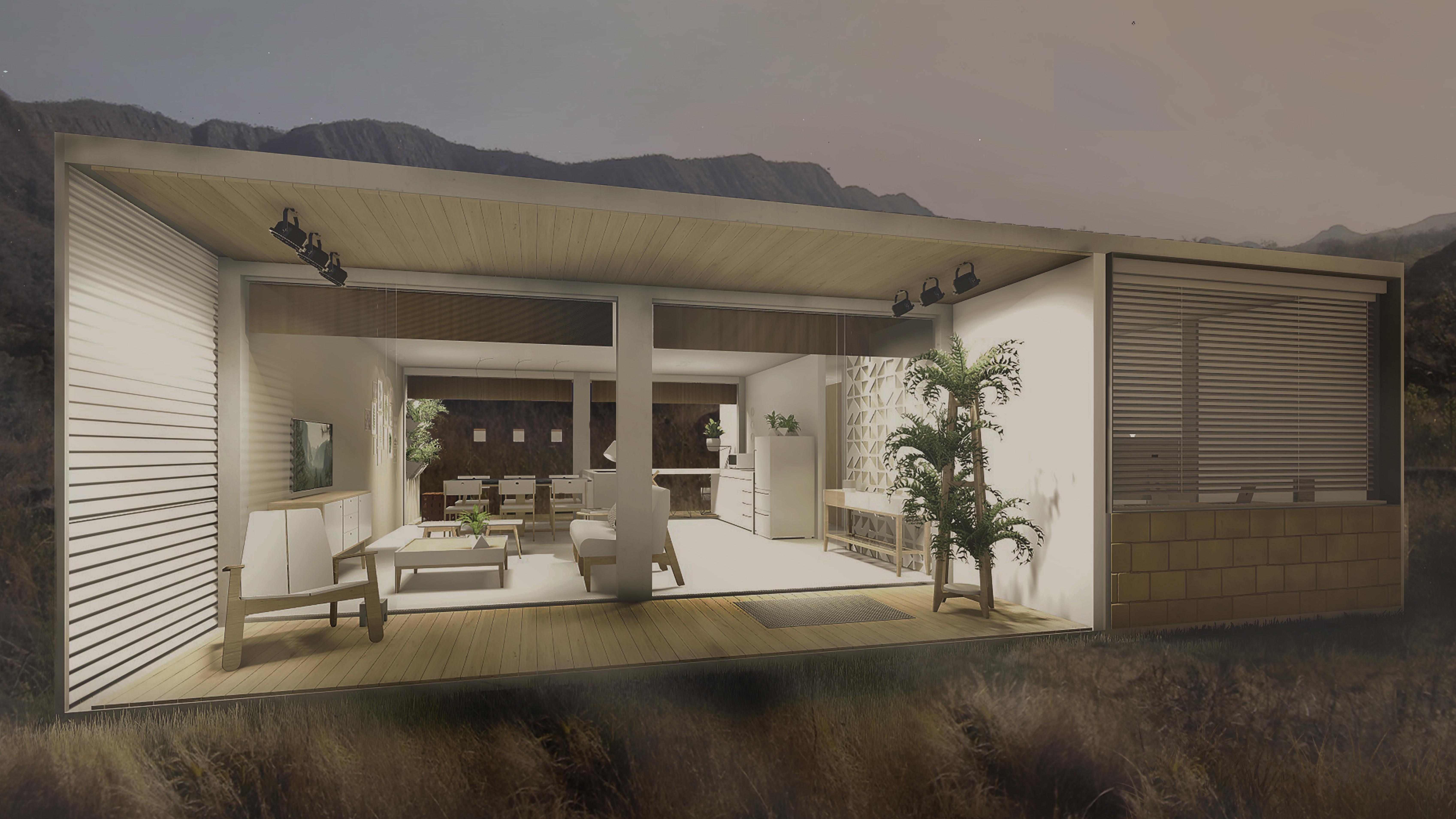 Casa chassi na serra projeto vencedor do pr mio hometeka for Casas e interiores