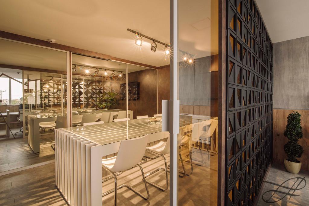 22 inspira es de ambientes com biombos e divis rias - Biombos casa home ...