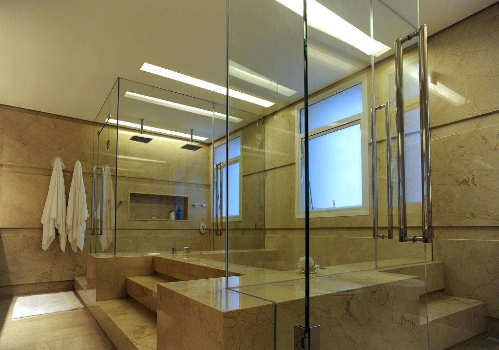 Box de banheiro | Projeto executado pela Divinal Vidros