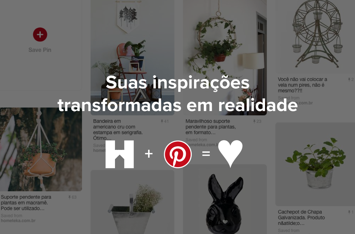 Hometeka + Pinterest = <3