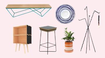 Pequenas, médias e grandes peças de design autoral para rechear sua casa