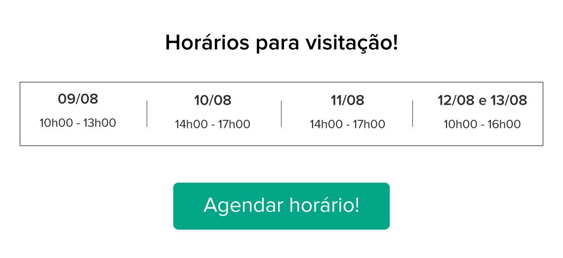 Aparamento Autoral Hometeka: Horários para visitação