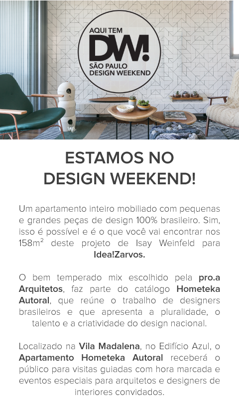 Estamos no Design Weekend 2017