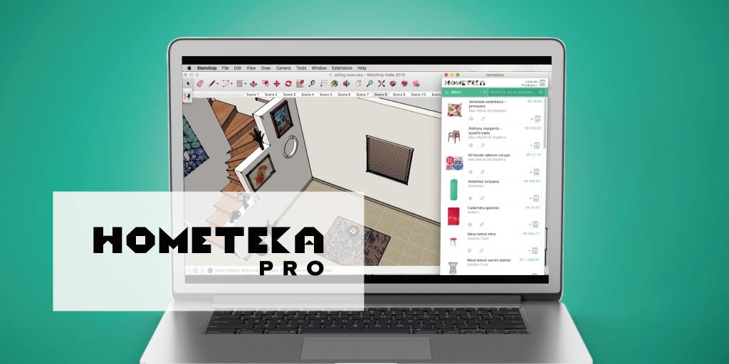 Passo a passo para instalar o Plugin Hometeka Pro em seu SketchUp!