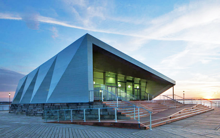 Prefabricated Southend Pier Cultural Centre