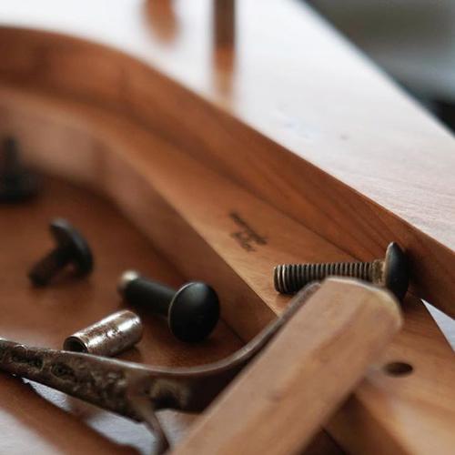 Detalhes da Cadeira Boomerang