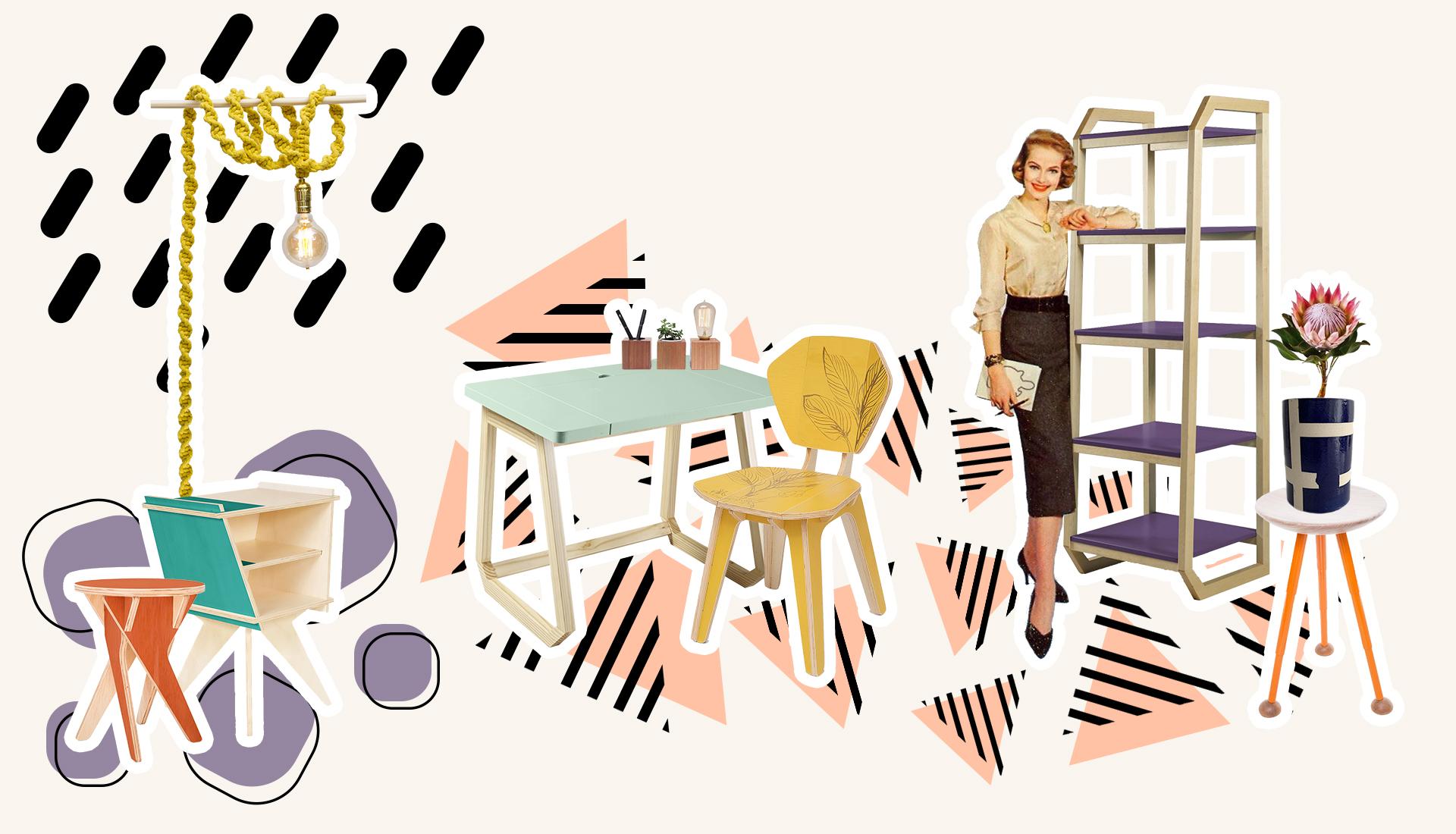Moodboard Outonal | Peças de Design Assinado e Curadoria Hometeka